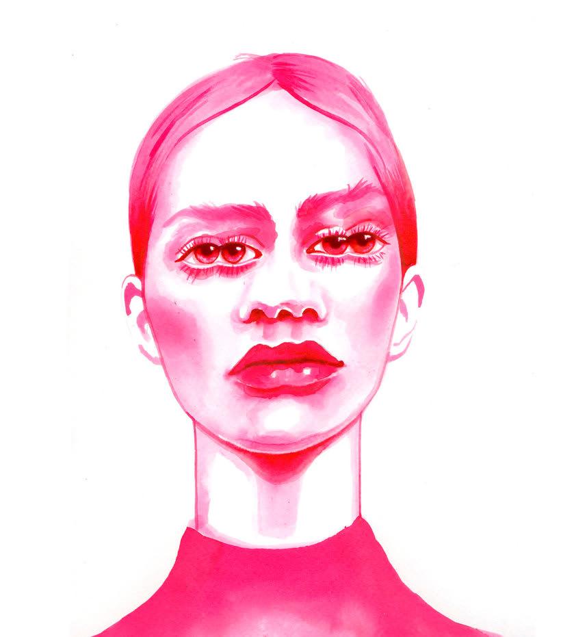 Mónica Loya muestra la belleza más fantasmagórica 8