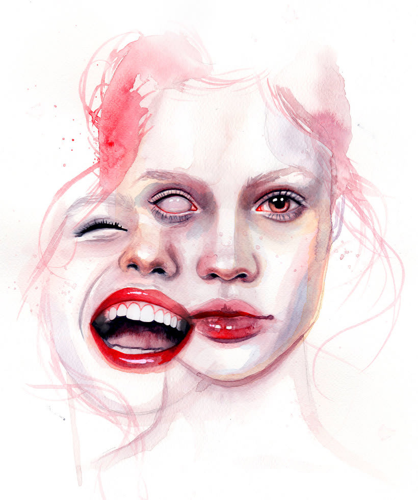Mónica Loya muestra la belleza más fantasmagórica 1