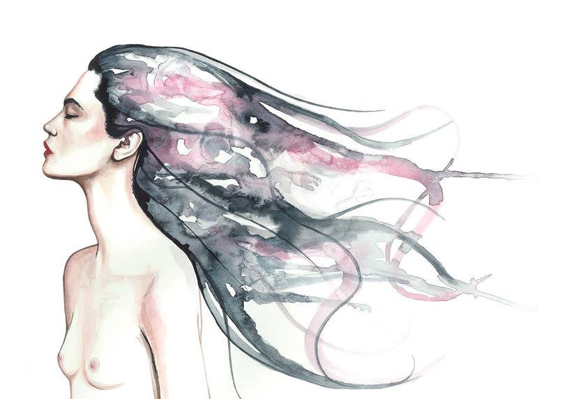 Mónica Loya muestra la belleza más fantasmagórica 15