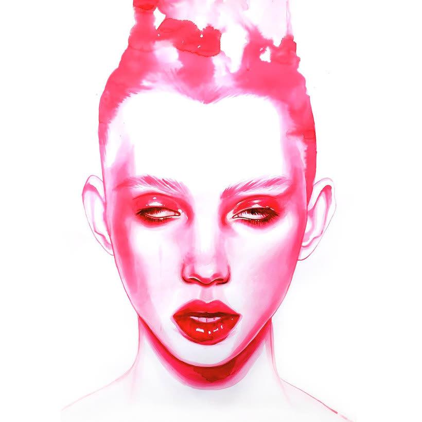 Mónica Loya muestra la belleza más fantasmagórica 17