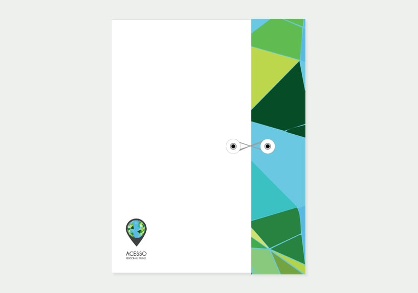 Branding/ Stationery ACESSO Personal Travel 3