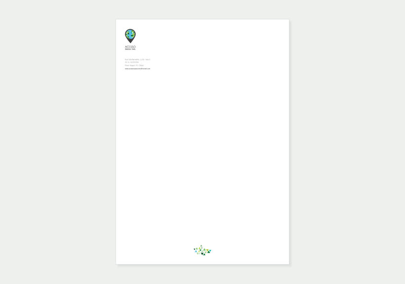 Branding/ Stationery ACESSO Personal Travel 8