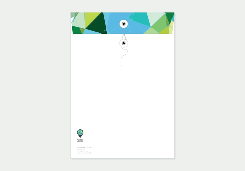Branding/ Stationery ACESSO Personal Travel 9