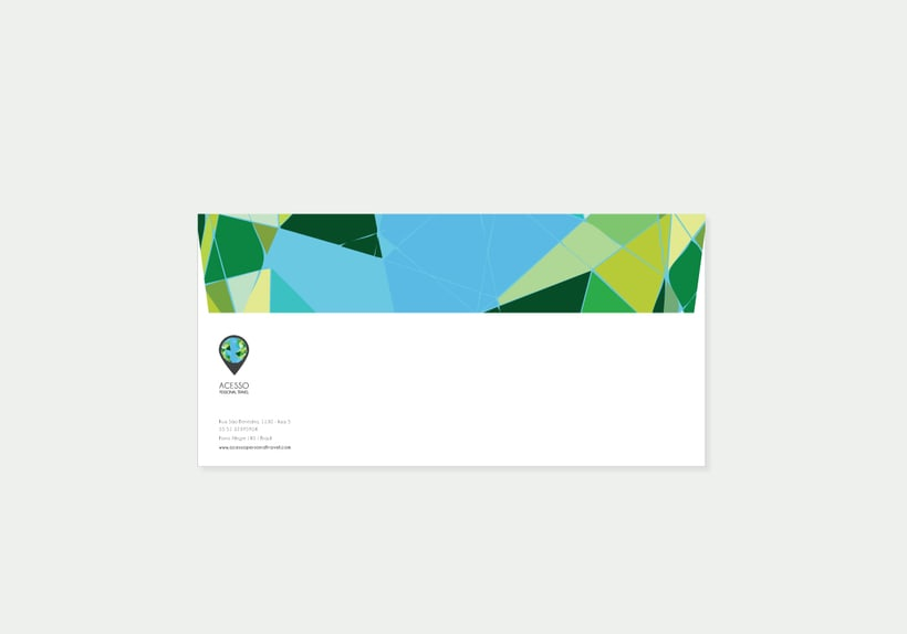 Branding/ Stationery ACESSO Personal Travel 6