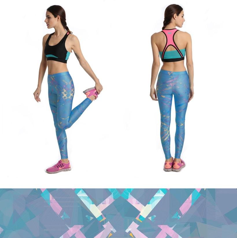 Diseño de leggings para LEGX 0