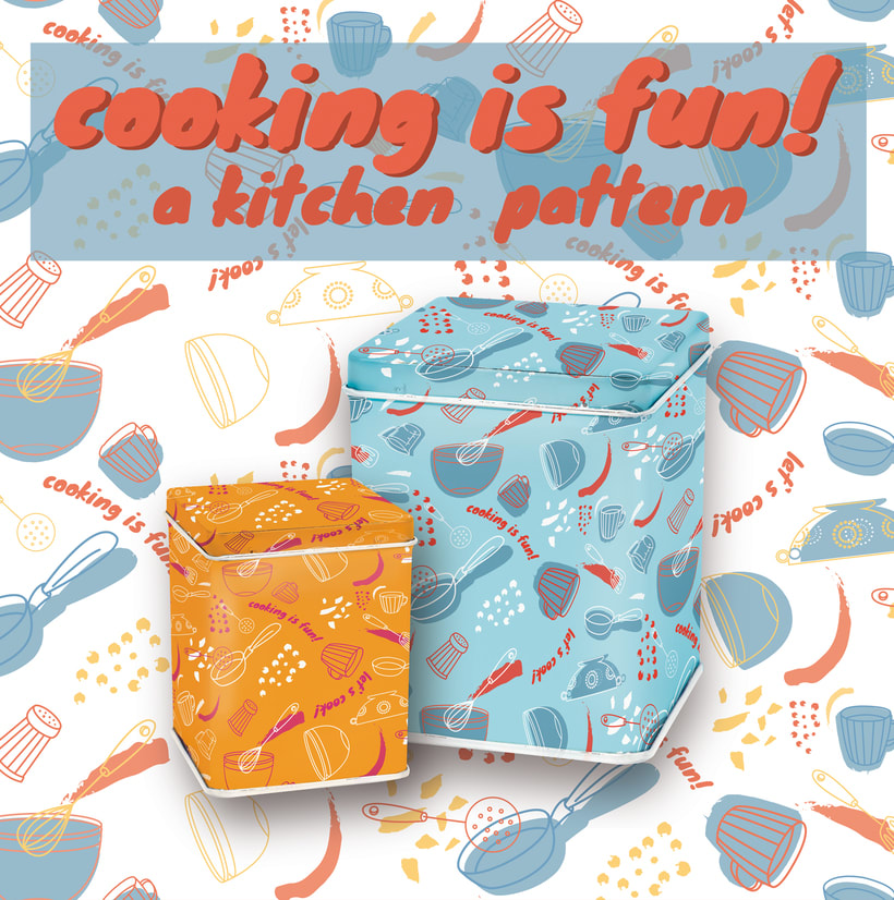 Diseño de pattern para hogar 0