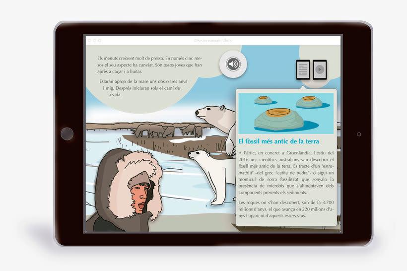 El Ártico eBook interactivo  3