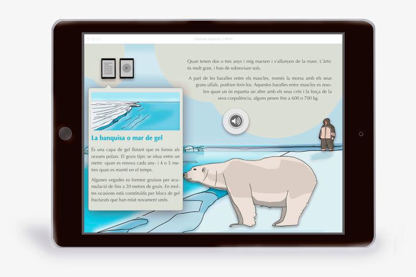 El Ártico eBook interactivo  4