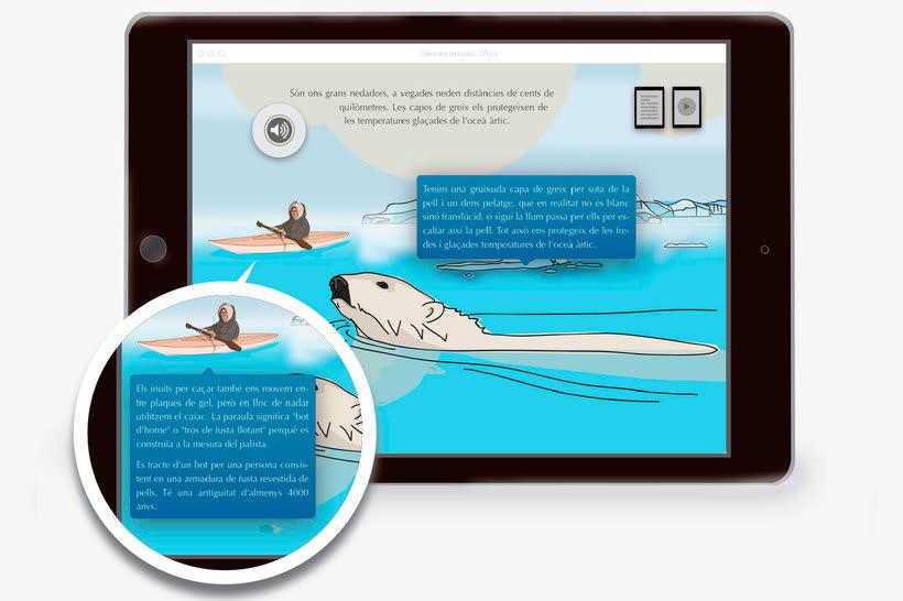 El Ártico eBook interactivo  5