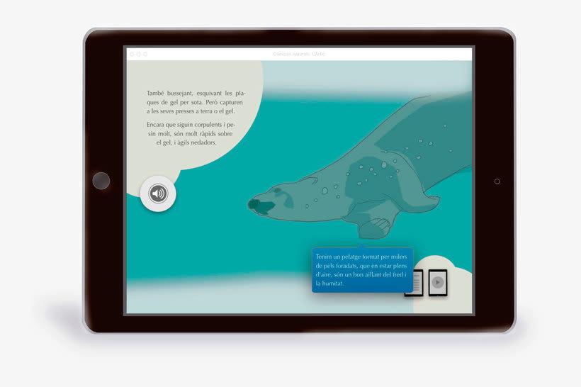 El Ártico eBook interactivo  6
