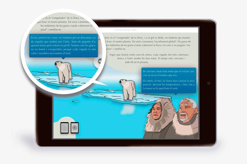 El Ártico eBook interactivo  8