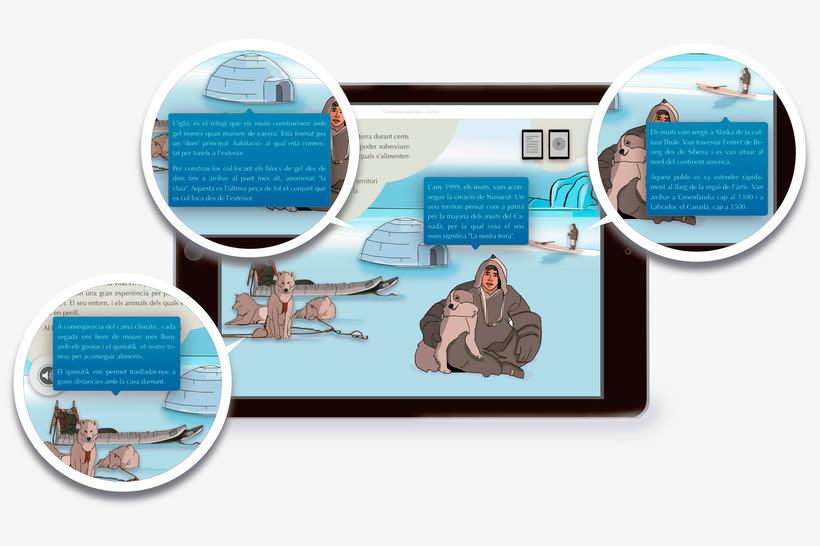 El Ártico eBook interactivo  9