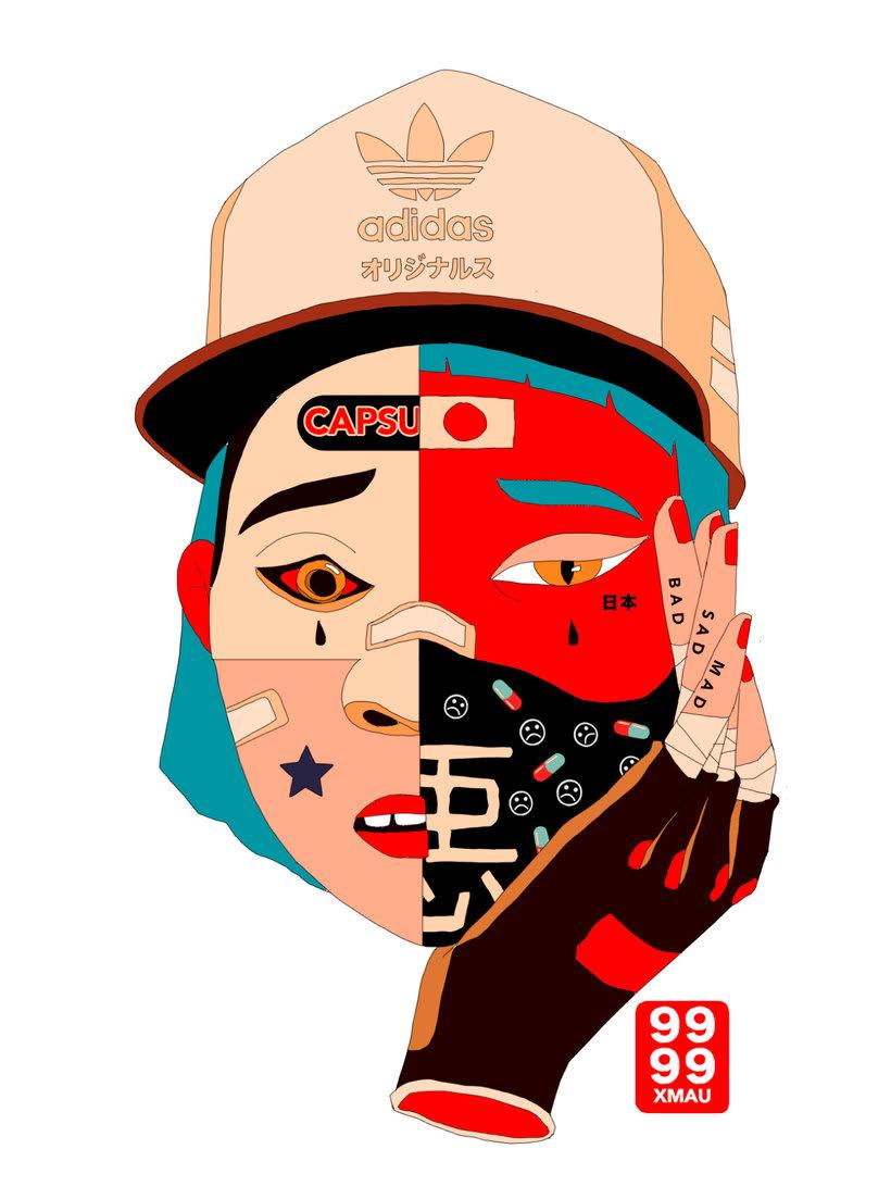 Maridaje argentino-nipón en las ilustraciones de Mau Lencinas 18