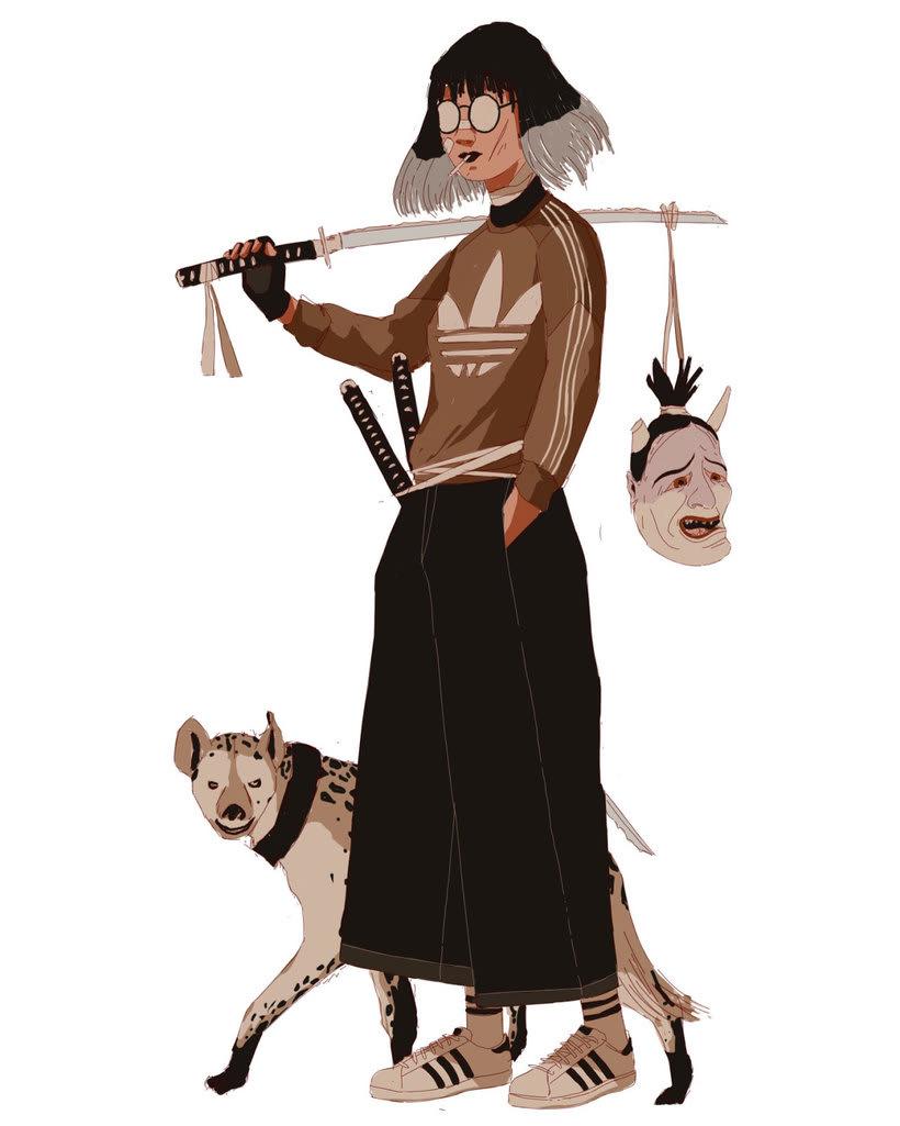 Maridaje argentino-nipón en las ilustraciones de Mau Lencinas 19