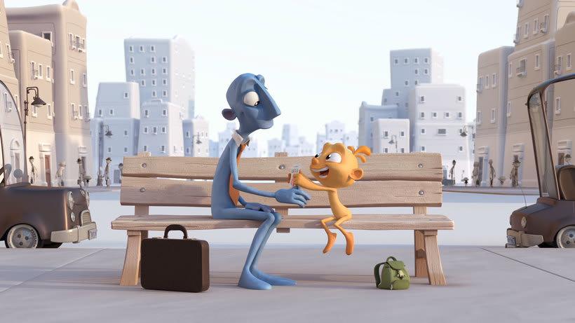 Alike, un corto de animación sobre la vocación artística 3