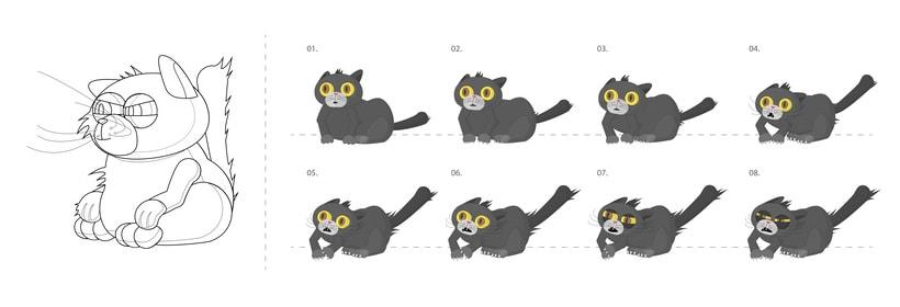 Diseño de personajes - Animación Corto (2015). 4