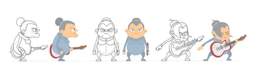 Diseño de personajes - Animación Corto (2015). 2