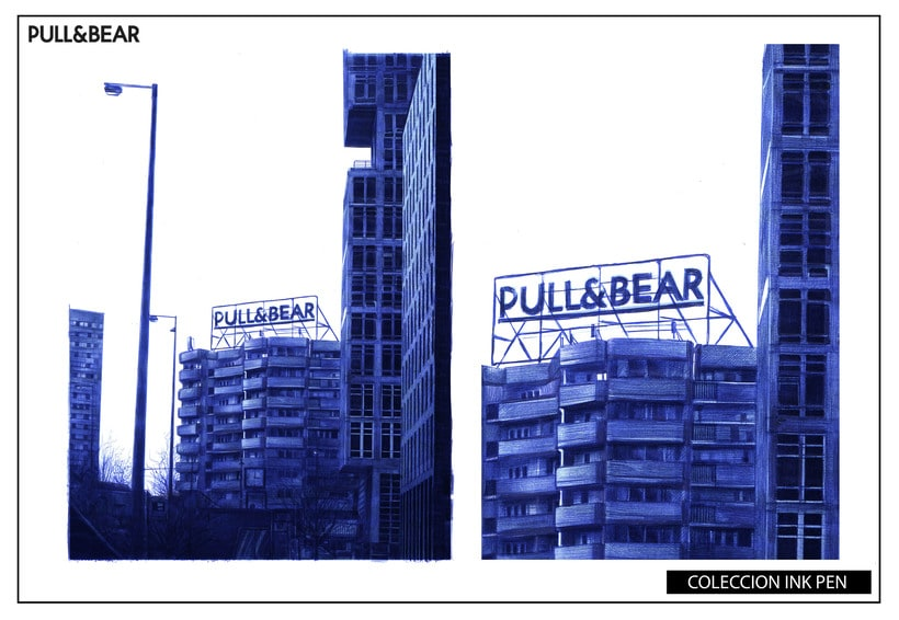 pull and bear trabajo