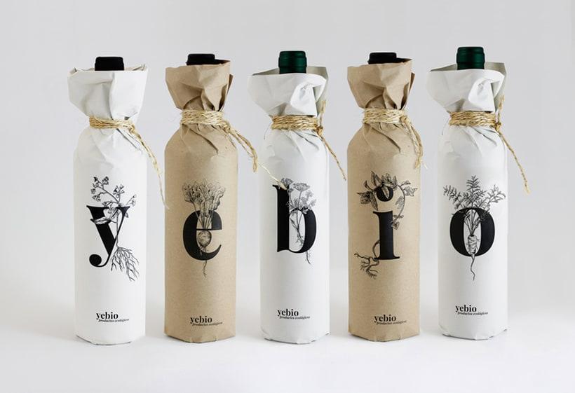 Yebio, diseño de marca -1