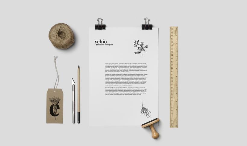Yebio, diseño de marca 2