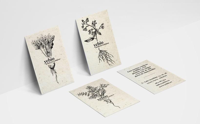Yebio, diseño de marca 3