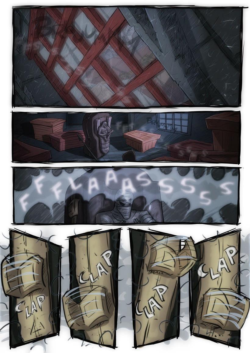 nuevas paginas de Detective Misterio 6
