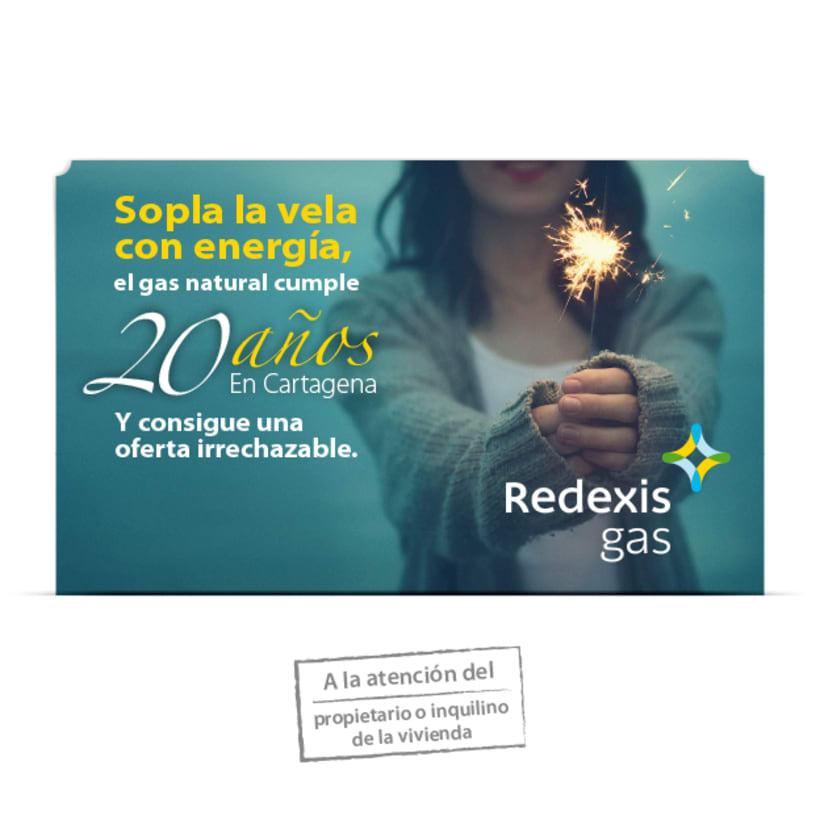 Campaña Redexis Buzoneo 2