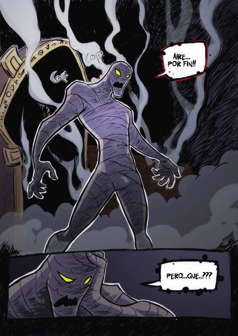 nuevas paginas de Detective Misterio 8