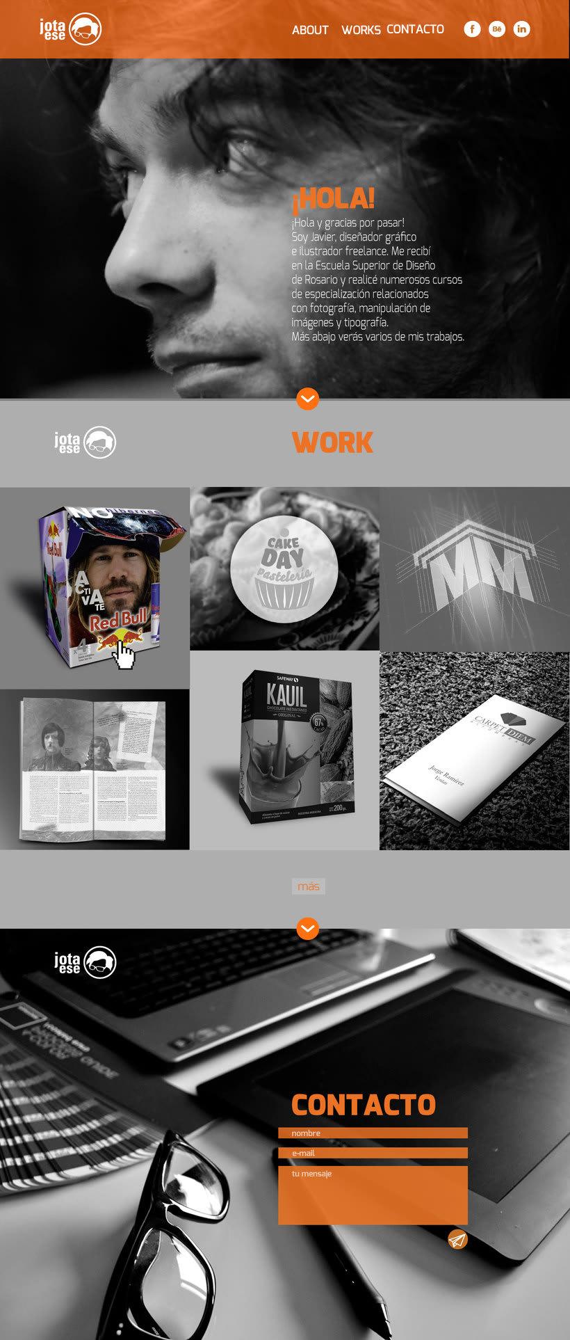 Diseño web responsive - Portfolio 1