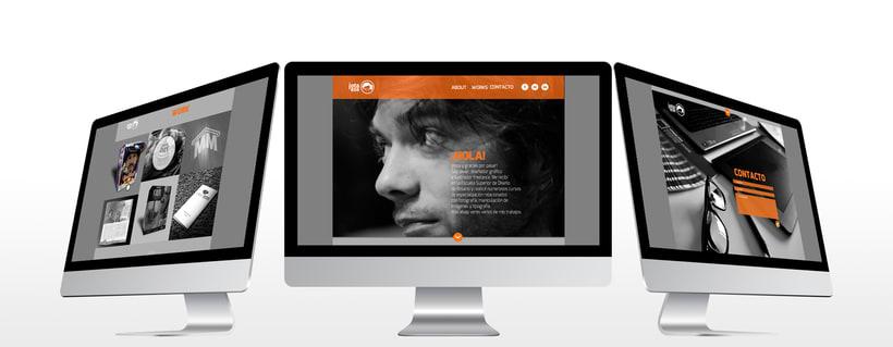 Diseño web responsive - Portfolio 2