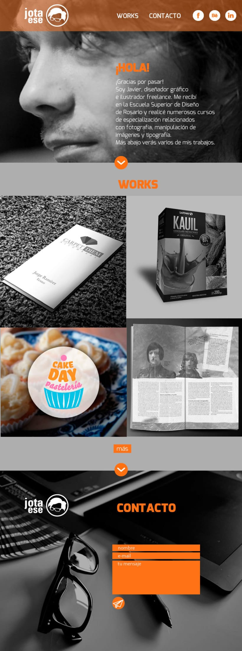 Diseño web responsive - Portfolio 4