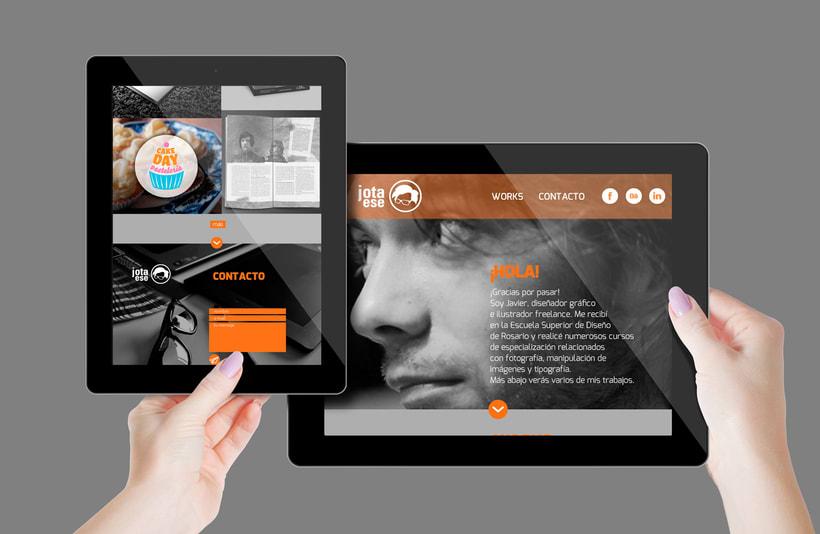 Diseño web responsive - Portfolio 5