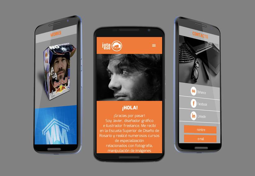 Diseño web responsive - Portfolio 8