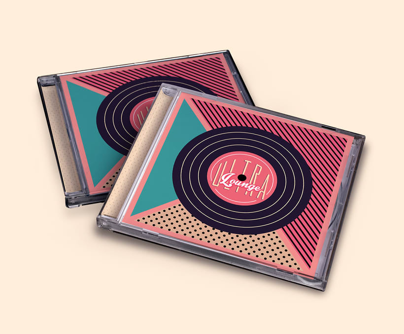 CD & Record Design - Ultra Lounge 1