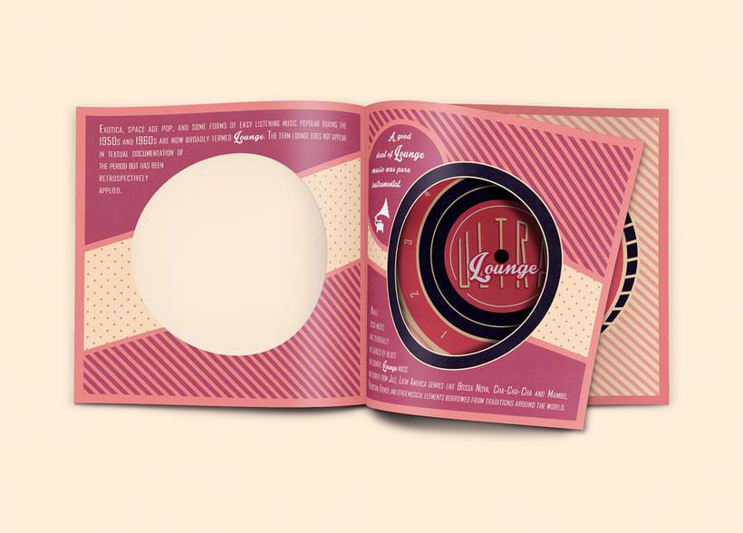 CD & Record Design - Ultra Lounge 6
