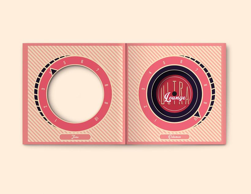 CD & Record Design - Ultra Lounge 7
