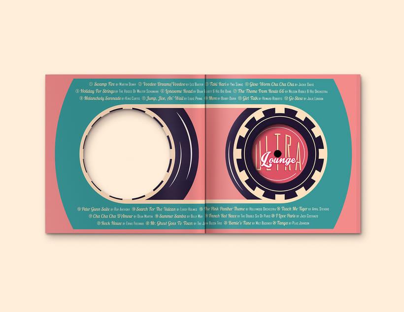 CD & Record Design - Ultra Lounge 8