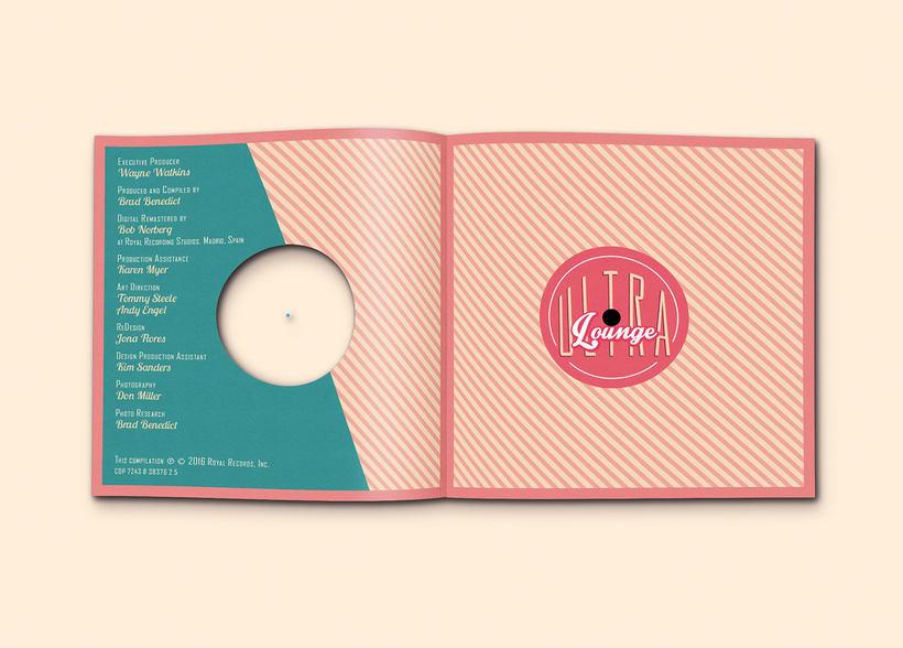 CD & Record Design - Ultra Lounge 9