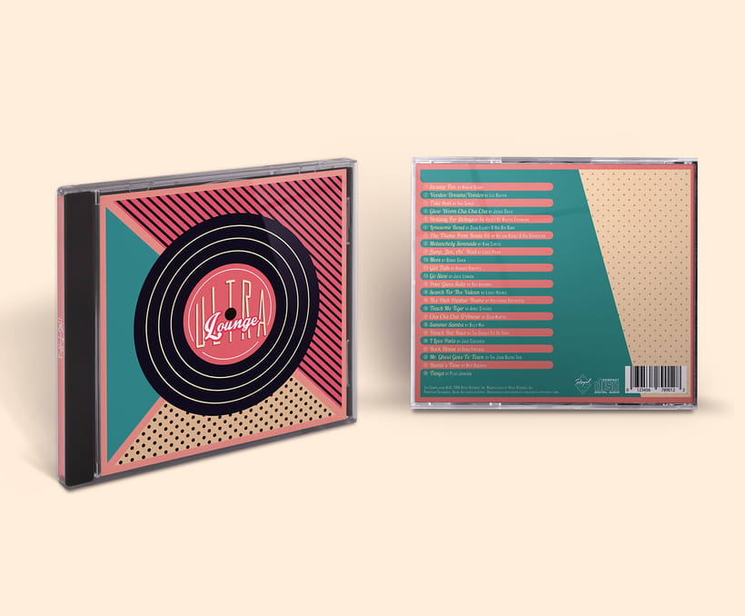 CD & Record Design - Ultra Lounge 11
