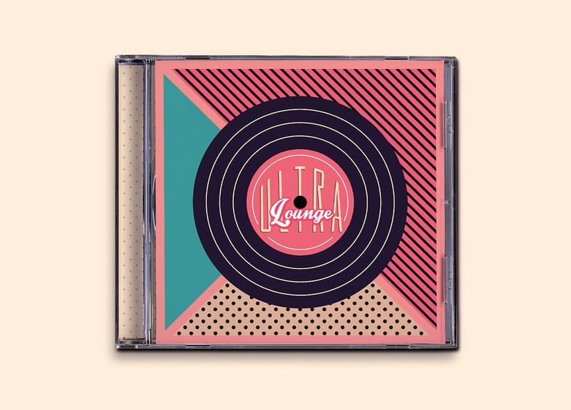 CD & Record Design - Ultra Lounge 12