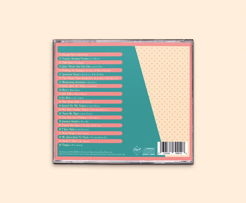 CD & Record Design - Ultra Lounge 13