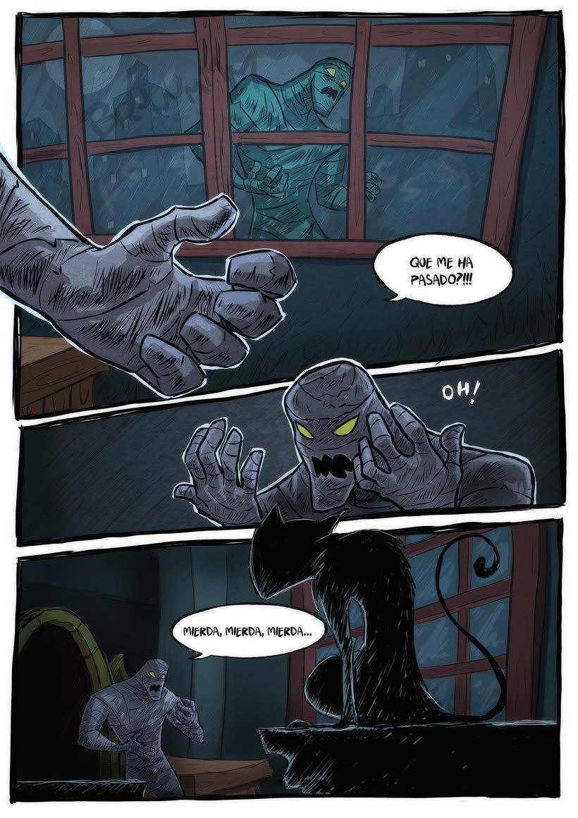 nuevas paginas de Detective Misterio 9