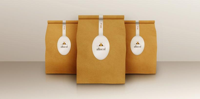 Branding & Corporate Design: albacol 1