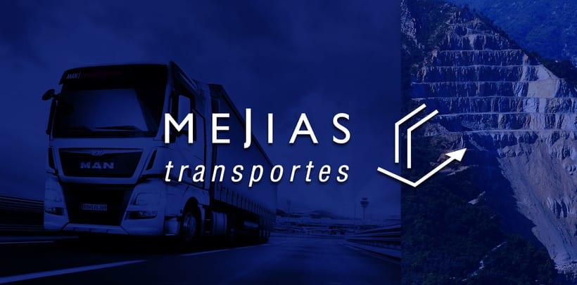 Branding & Corporate Design: Mejías Transportes 0