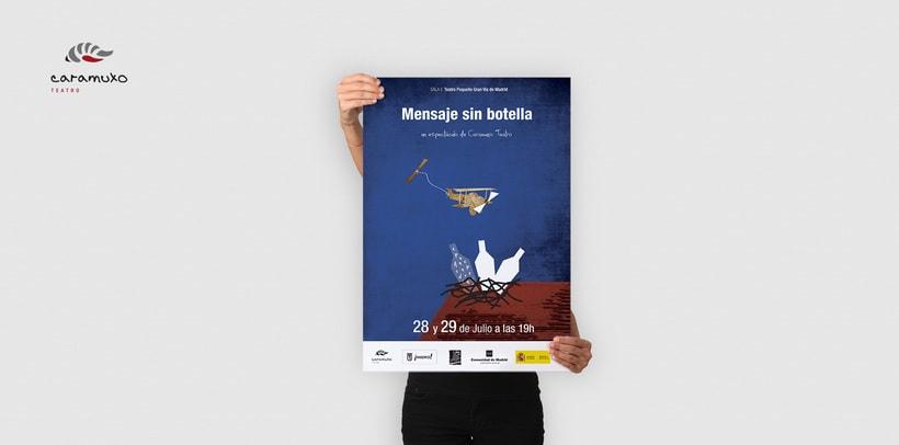 Advertising Campaign: Caramuxo Teatro 1