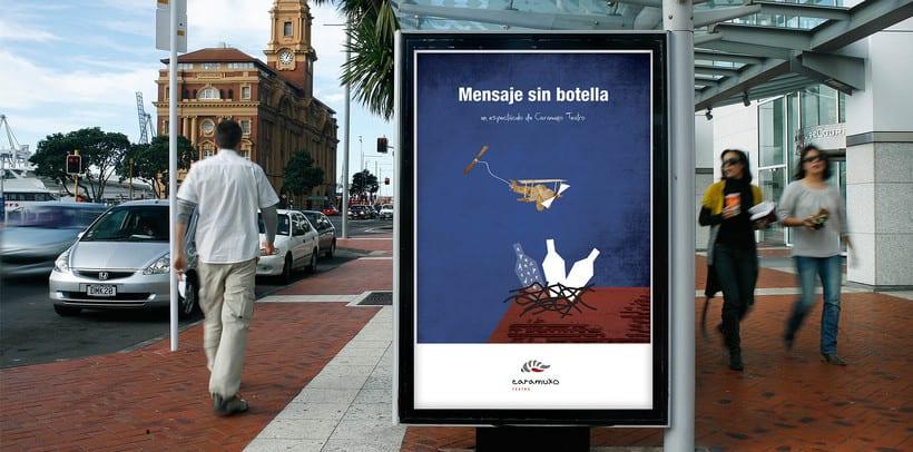 Advertising Campaign: Caramuxo Teatro 9