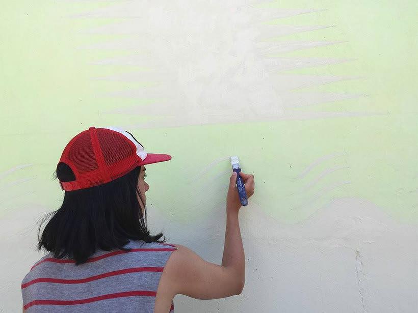 Reskate: cuando el arte urbano brilla en la oscuridad 3