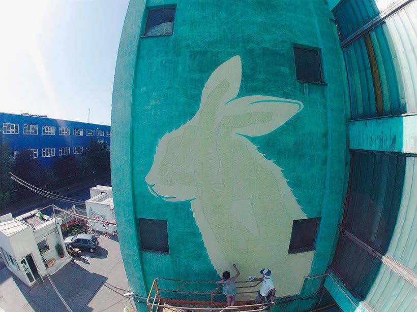 Reskate: cuando el arte urbano brilla en la oscuridad 6