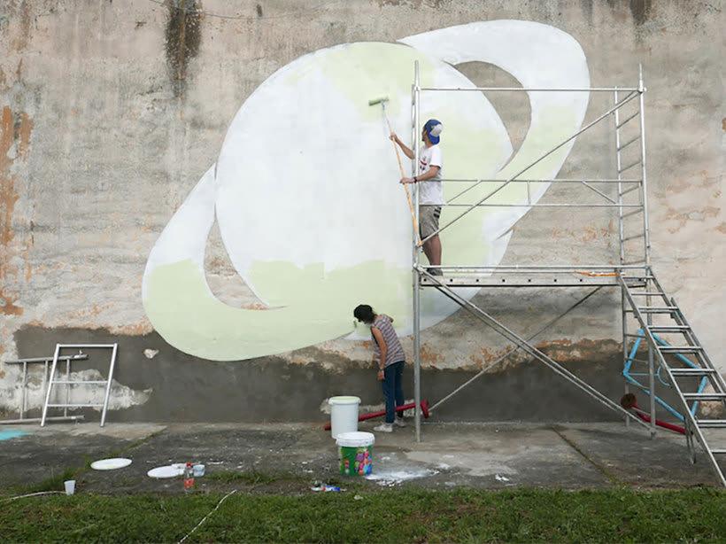 Reskate: cuando el arte urbano brilla en la oscuridad 12