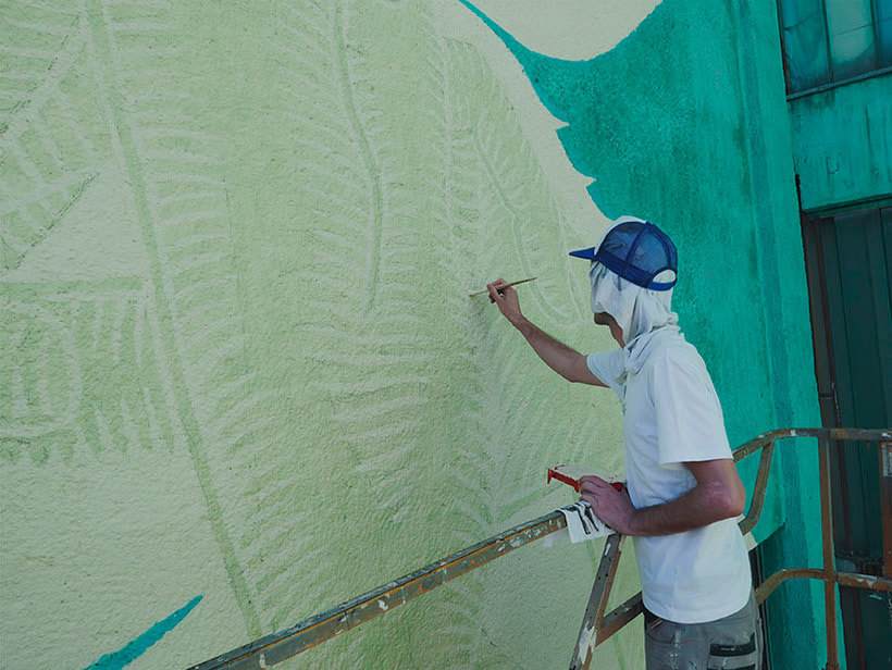 Reskate: cuando el arte urbano brilla en la oscuridad 15